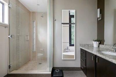 Sèche serviette électrique miroir rayonnant