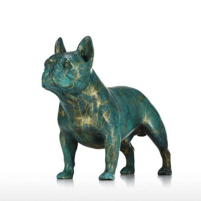Statue Bouledogue