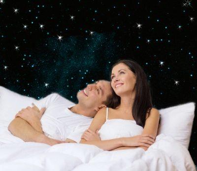 Couple Ciel étoilé