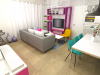 Appartement décoré